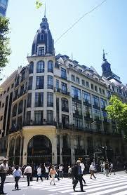 Edificio del Café London ubicado en Perú y Av. de Mato