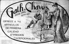 Publicidad de la época.