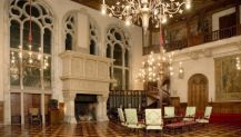 Gran Hall Central de estilo Tudor