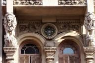 Los Leones que sostienen los balcones