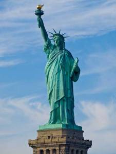 Estatua de la Libertad en Manhattan