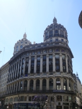 Edificio Bencich con sus dos cúpulas