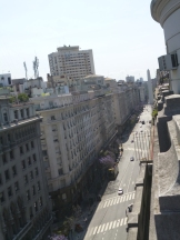 Vista de la Diagonal Norte y el OIbelisco