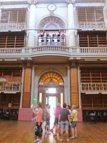 Dentro del Salón Principal