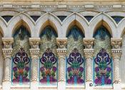 Mosaicos en su fachada