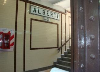 Estación Alberti hoy