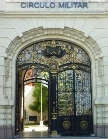Puerta de Ingreso al Círculo MIlitar