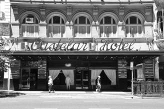 Fachada del Hotel Castelar