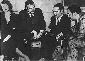 Pablo Neruda y Gracía Lorca
