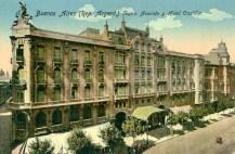 Antiguo Teatro Avenida, destruido por un incendio, hoy restaurado pero sin su brillo original.