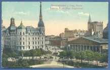 Plaza de Mayo, Catedral Metropolitana y Municipalidad de Buenos Aires